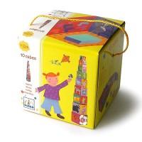 Djeco - Pudełka do układania wieży