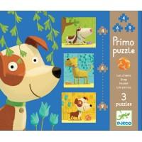 Djeco - Puzzle Pieski