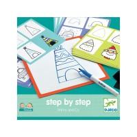Djeco - Rysowanie krok po kroku Primo