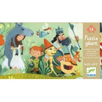 Djeco - Puzzle Gigant- Bajki 36 el