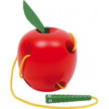 Legler - Nauka nawlekania - Jabłko