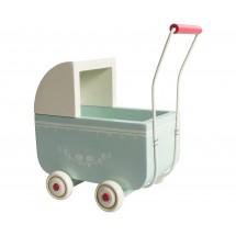 Maileg - Wózek Baby MY niebieski