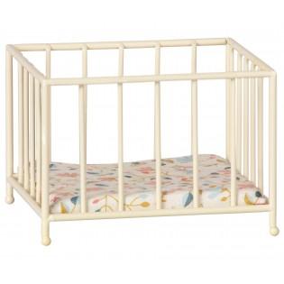 Maileg - Łóżeczko/kojec niemowlęcy