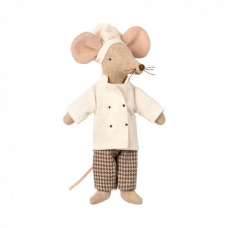 Maileg - Myszka szef kuchni