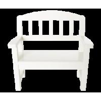 Maileg - Drewniana ławeczka- biała