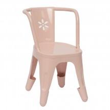 Maileg - Metalowe Krzesło- Pudrowy róż