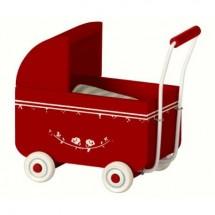 Maileg - Wózek Baby MY czerwony