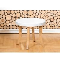 Somebunny - Okrągły stolik w bieli