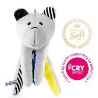 Whisbear® SOFT - Szumiący Miś z funkcją CRYsensor (cytryna)