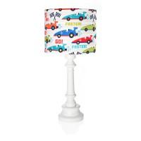 Lampa dla dzieci- Wyścigówki