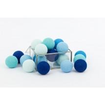 Cotton Balls - Blue